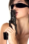 girl-in-sunglasses-kissing-gun